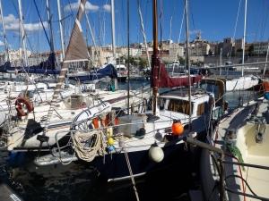 Onze ligplaats in Marseille