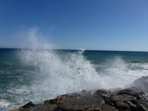 Regelmatig een woeste zee