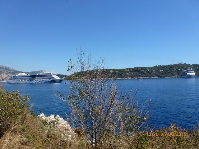 De 2 Cruise schepen