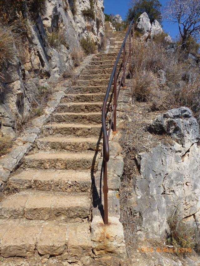 Nog een trapje op
