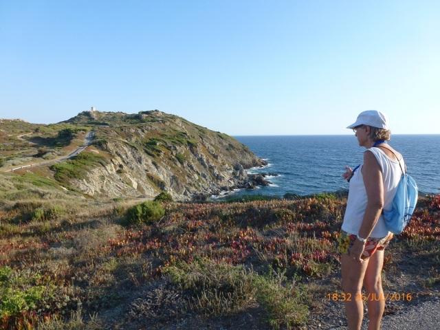 Wandelen rond het eiland
