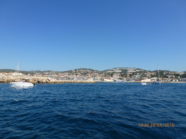 Onderweg naar Toulon