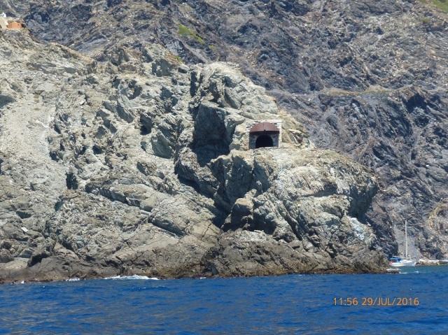Toulon is een marine basis maar dit is een enigszins gedateerde uitkijkpost